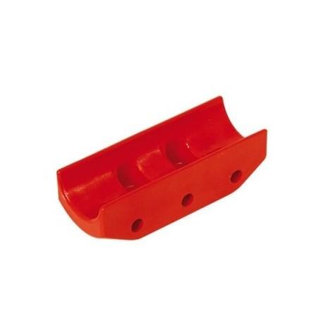 Protección Nylon Rojo Disco de Freno Ø 206 x 16 mm