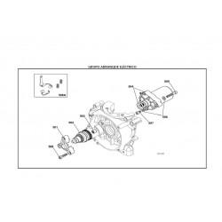 REF.508A Kit Escobillas Motor de Arranque X30