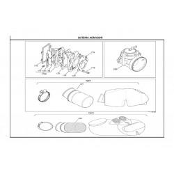 REF.177 JUNTA CARBURADOR TILLOTSON X30