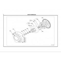 REF.364 DISCO EMBRAGUE X30 -2013-
