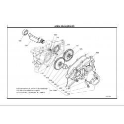 REF.128 JUNTA ANTIVIBRANTE MOTOR ARRANQUE X30