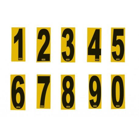 Número Autoadhesivo